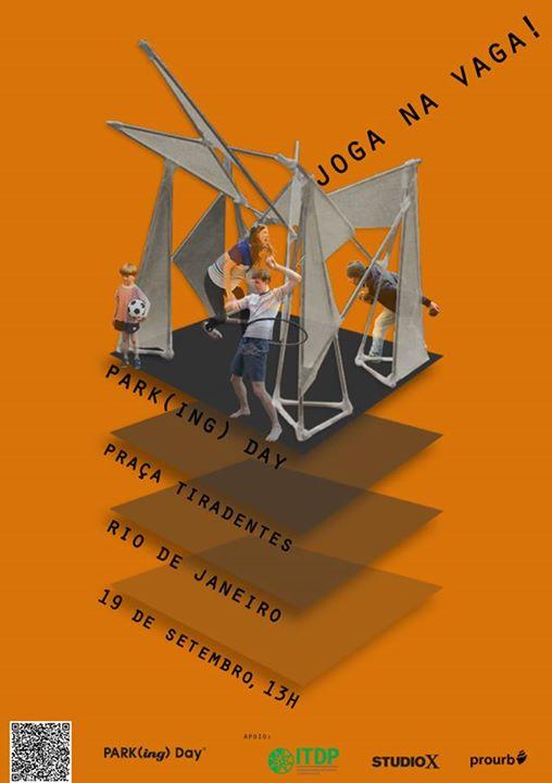 """Park(ing) Day – Joga na Vaga!"", no Studio-X Rio, Cortesia de Studio-X Rio"