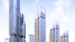 Construction Begins on Rogers Stirk Harbour's First Towers in Middle East