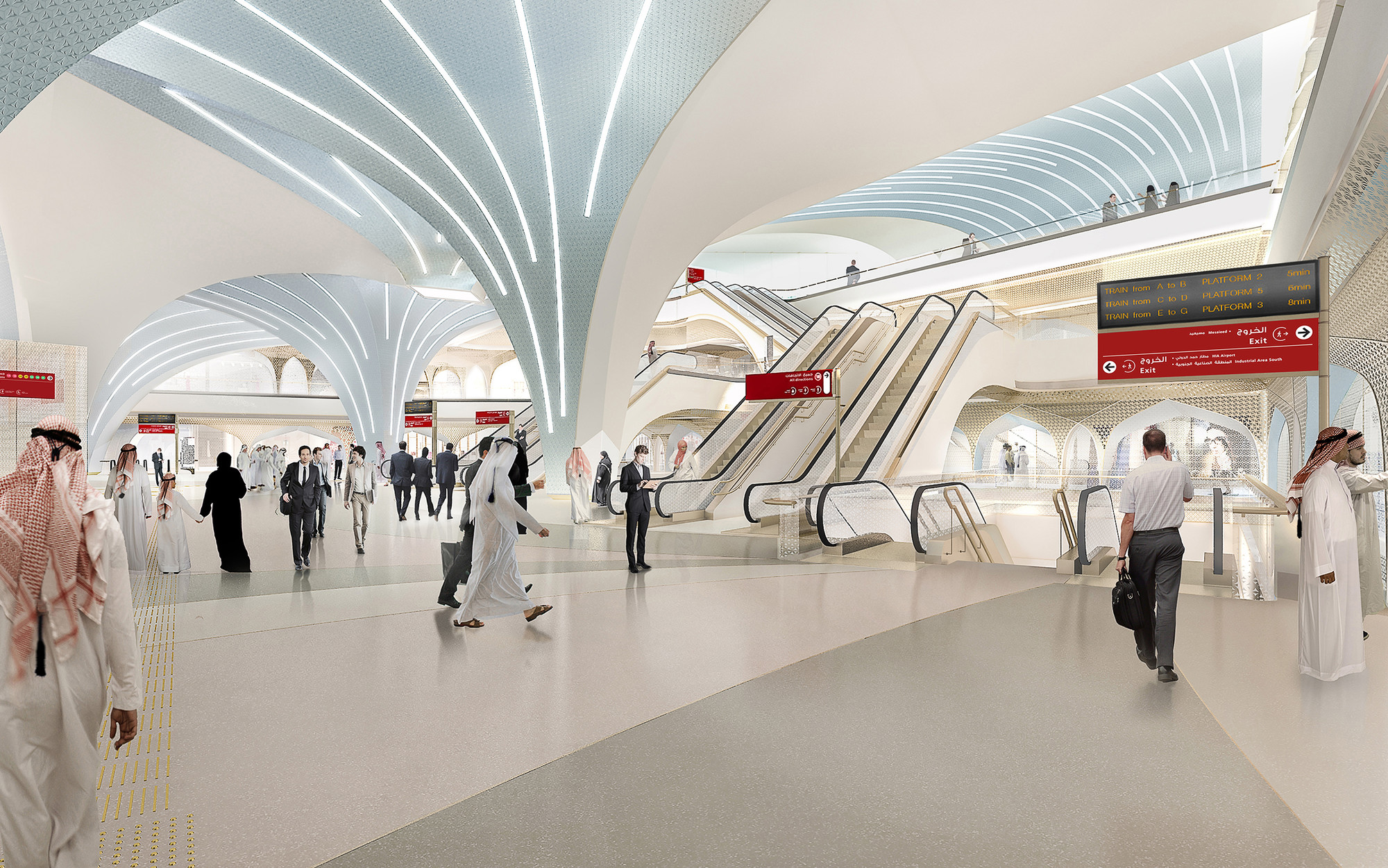 Gallery of UNStudio Appointed to Create Identity for Qatar ...