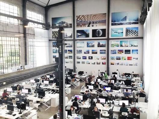 The Offices of BIG. Image © BIG-Bjarke Ingels Group