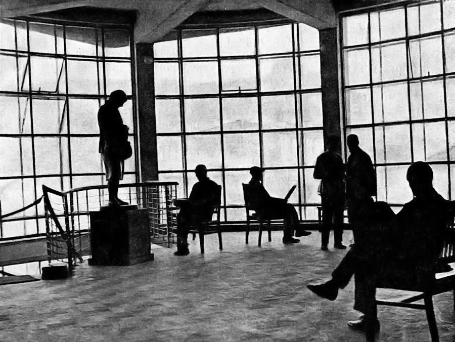 Figuras, Portas e Passagens / Robin Evans, 1. Zuyev club, Moscou. © I. Golosov, 1928