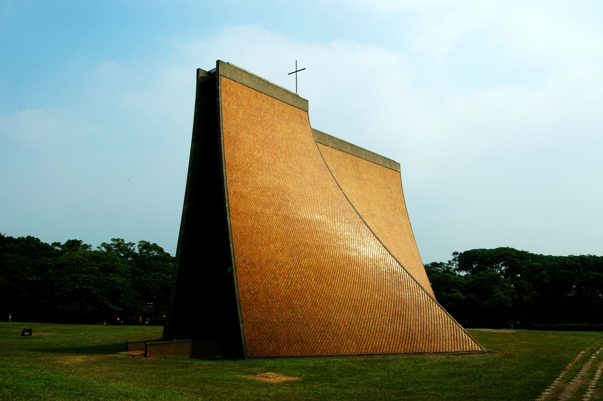10 Modernist Buildings Receive Conservation Grants from Getty Foundation, Luce Memorial Chapel, Taichung, Taiwan / I.M. Pei. Image © Anonymous Blogger