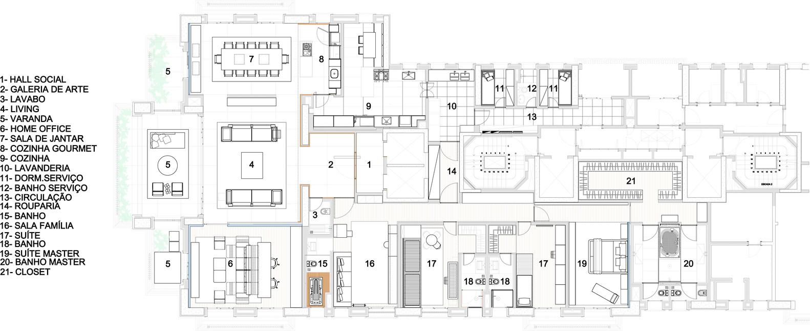 Preferência Galeria de Projeto Seridó / Coletivo Arquitetos - 19 AZ39