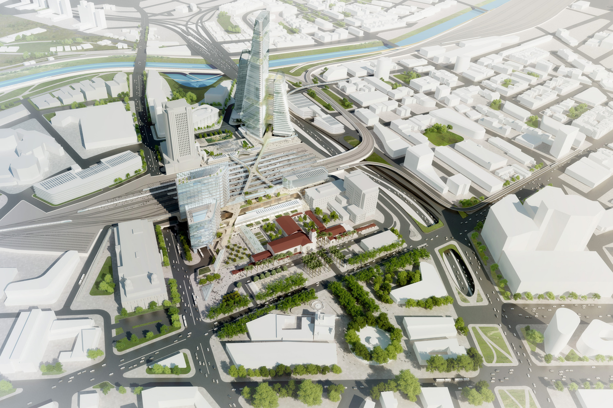 Grimshaw And Gruen S La Union Station Masterplan Gains Approval From Planning Board Archdaily