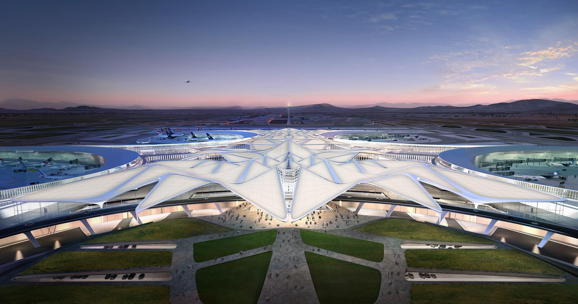 Serrano Arquitectos + Zaha Hadid Architects presentan su propuesta del Nuevo Aeropuerto Internacional de la Ciudad de México, Cortesia de Serrano Arquitectos + Zaha Hadid Architects