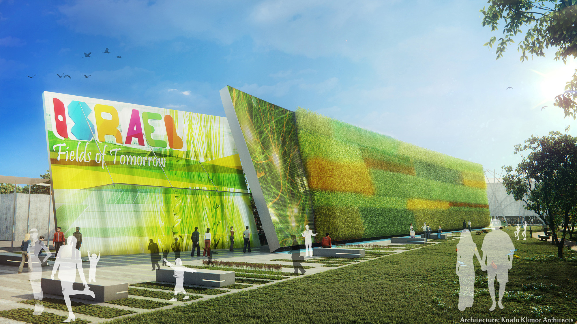 Milan Expo 2015: Knafo Klimor-Design Pavilion to Represent Israel , © 3Dvision
