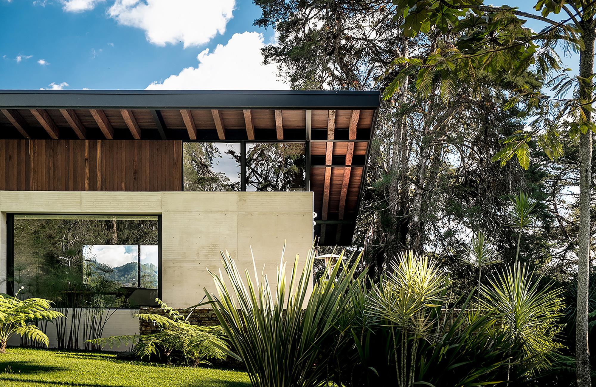 casas campestres arquitectura