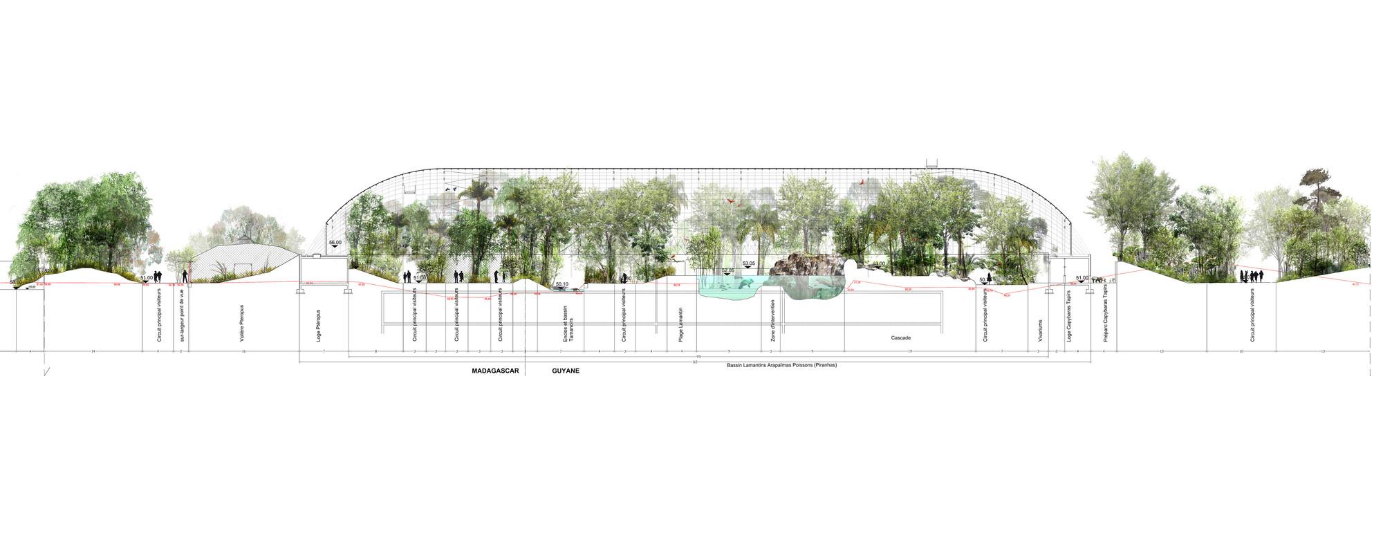 Paris Zoological Park Bernard Tschumi Urbanists