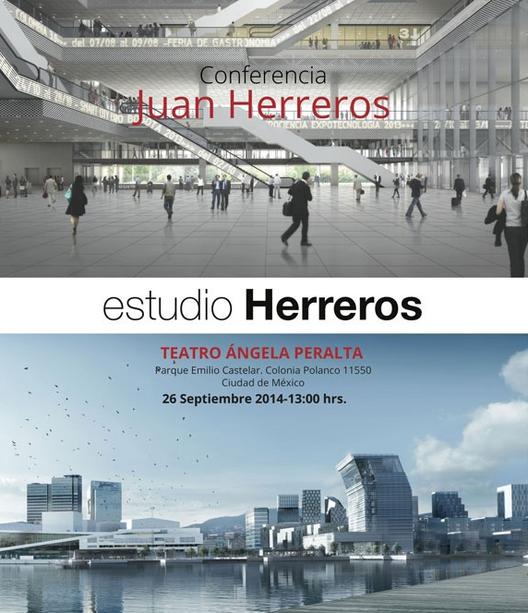 Conferencia Juan Herreros, estudio Herreros / Colegio de Arquitectos de la Ciudad de México