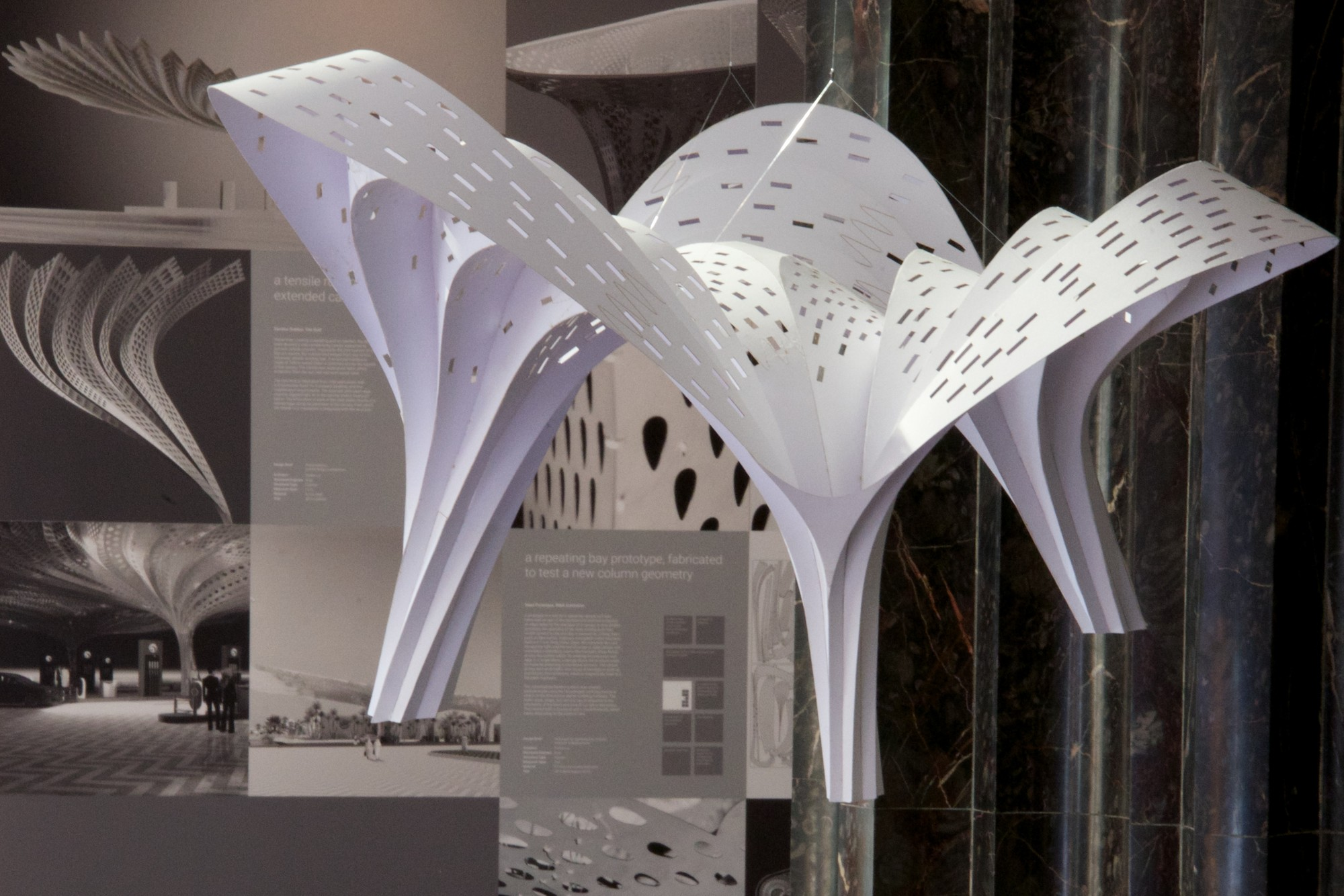 Gallery Of Quot Shell Lace Structure Quot Tonkin Liu S Nature