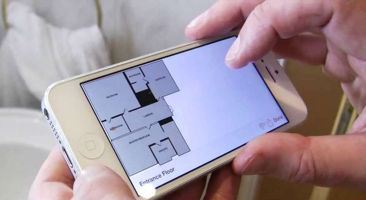 An App That Draws Impressively Accurate Floor Plans In