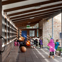 Ranelagh Multi-Denominational School, nominated for the Stirling Prize in 1999. Image © Alice Clancy