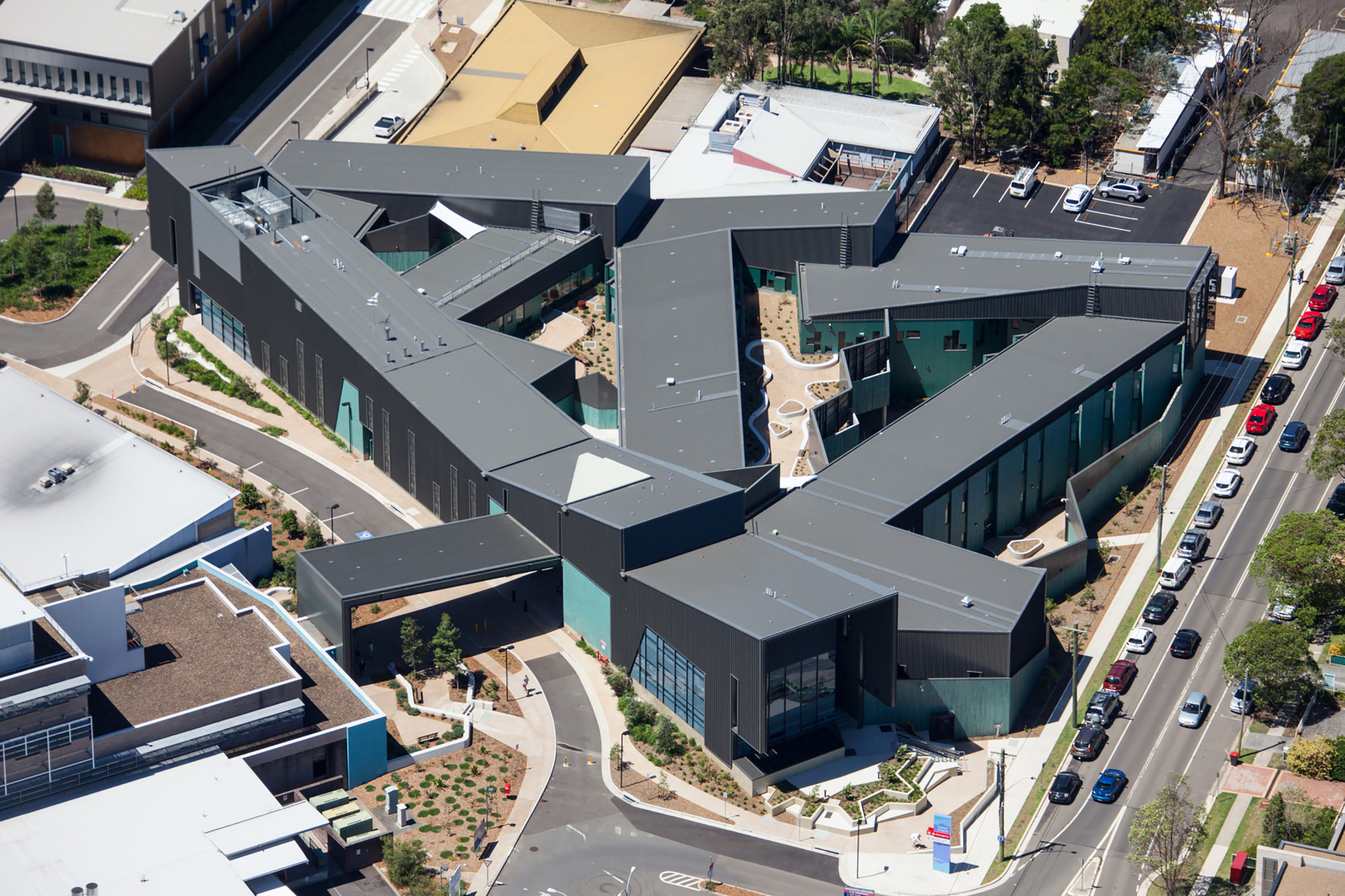 nepean mental health centre woods bagot archdaily