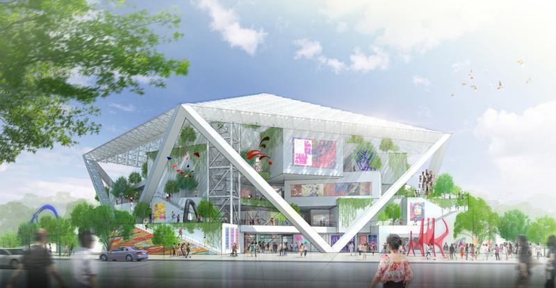 Shigeru Ban construirá el Museo de Bellas Artes de Tainan, © Shigeru Ban Architects