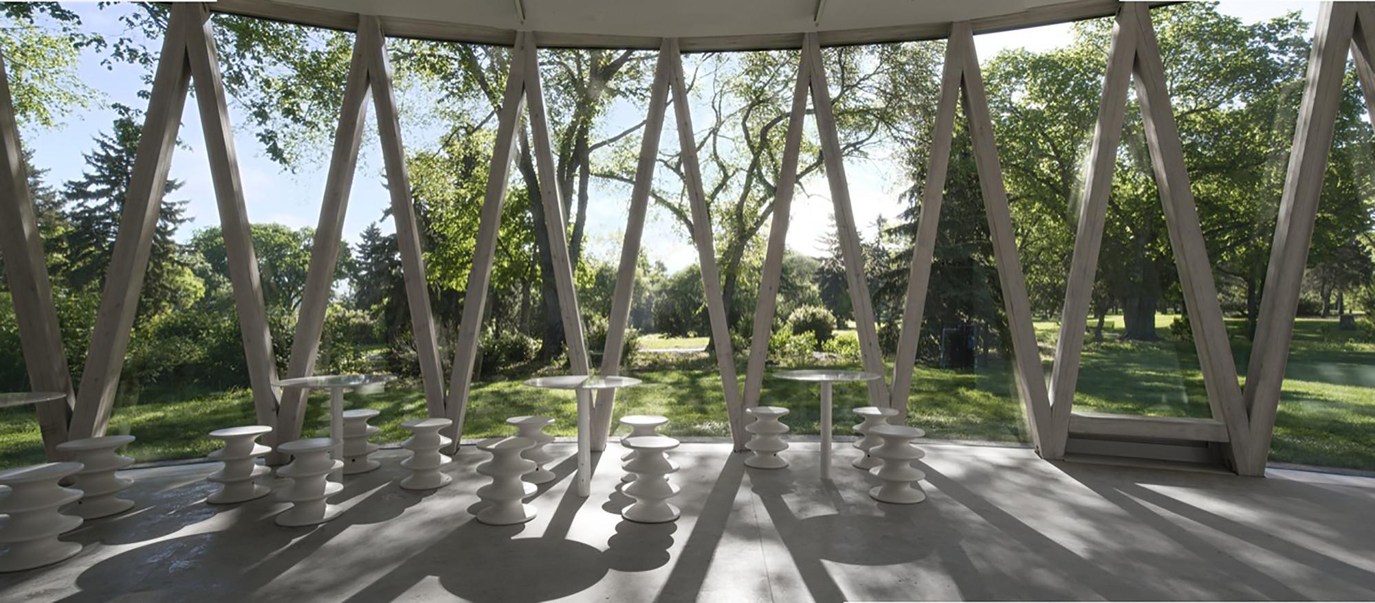 Pavilhão do Parque Borden / gh3, © Raymond Chow