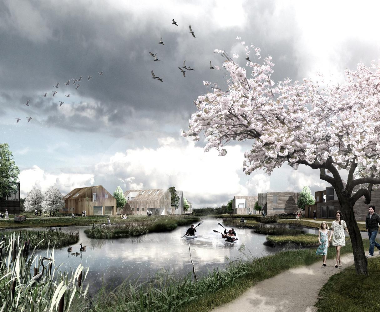 gallery of plans revealed for denmark s delta district in vinge 6
