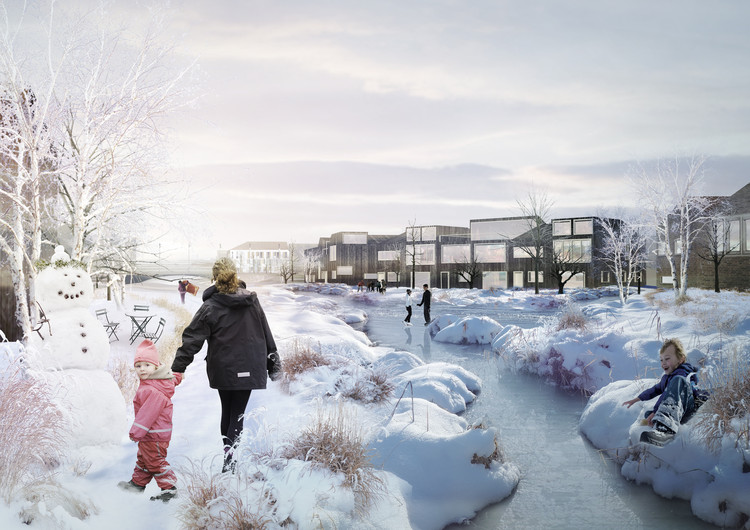 Plans Revealed for Denmark's Delta District in Vinge, Courtesy of SLA and the Municipality of Frederikssund