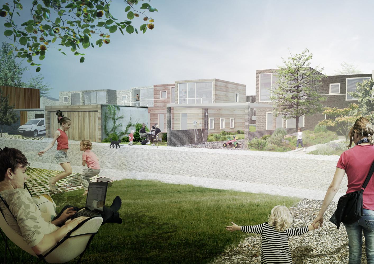 gallery of plans revealed for denmark s delta district in vinge 4
