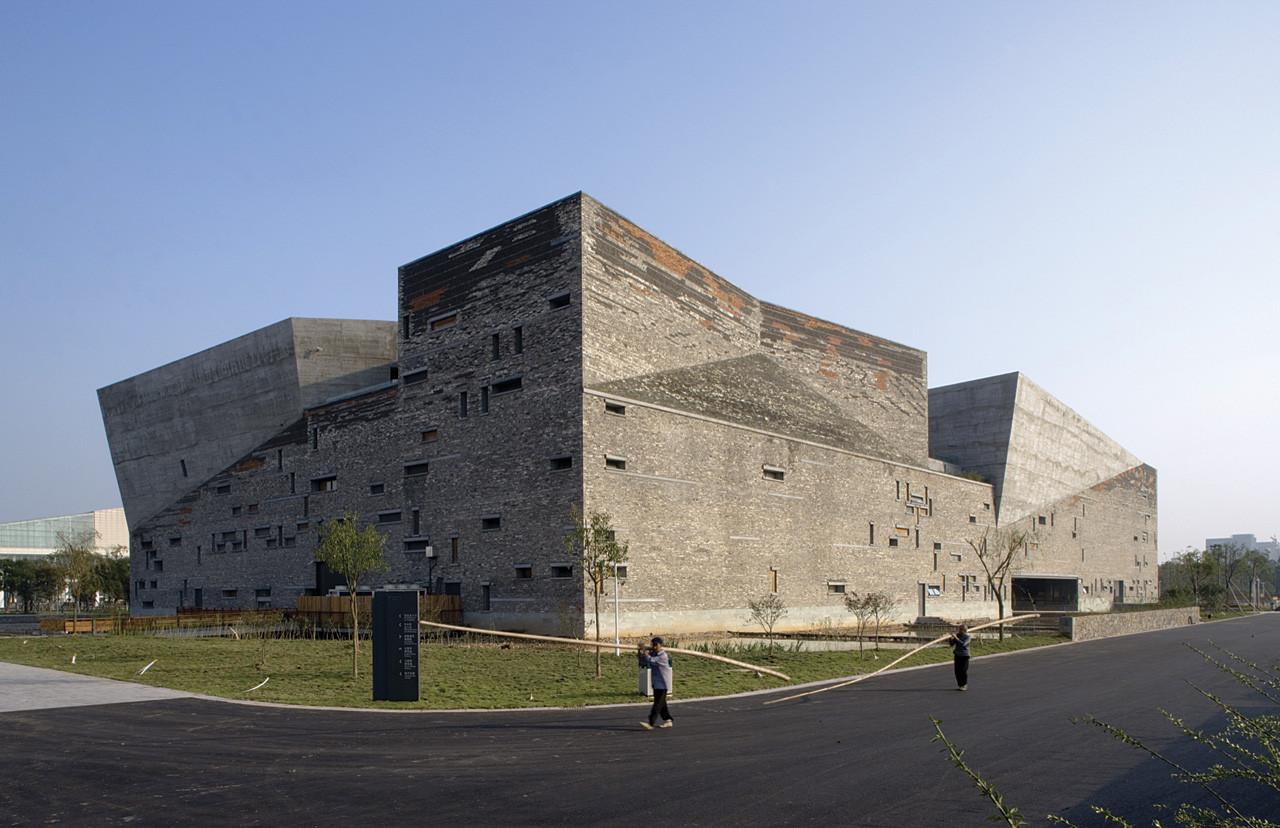 Thom Mayne, Wang Shu and Lu Wenyu among the RIBA's 2015 Fellowships, Amateur Architecture Studio (Wang Shu + Lu Wenyu)'s Ningbo History Museum. Image © Lv Hengzhong, Courtesy of Amateur Architecture Studio