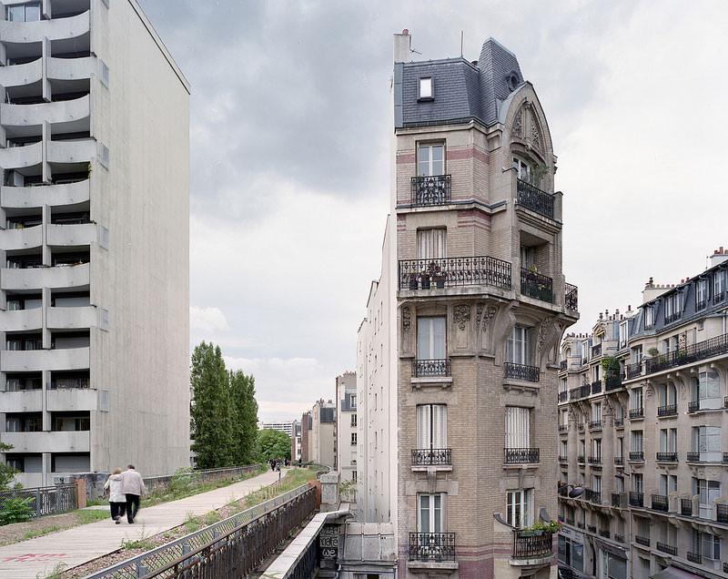 4 propostas para recuperar uma linha férrea abandonada de Paris, © Pierre Folk