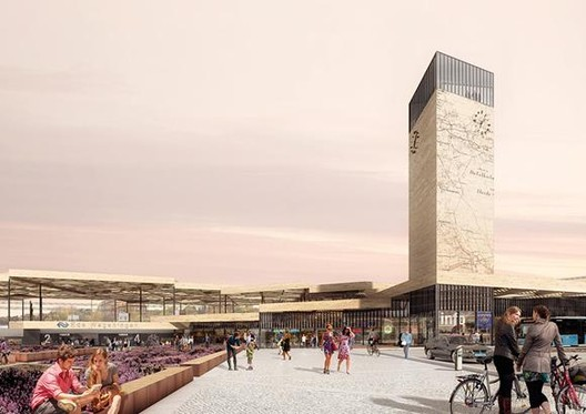 Mecanoo Chosen to Redevelop Dutch Train Station, Courtesy of Mecanoo