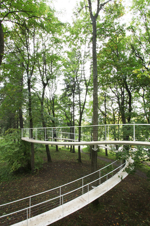 A Path in the Forest / Transsolar & Tetsuo Kondo Architects, Courtesy of Transsolar & Tetsuo Kondo Architects