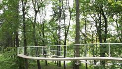 Um caminho no bosque / Transsolar & Tetsuo Kondo Architects