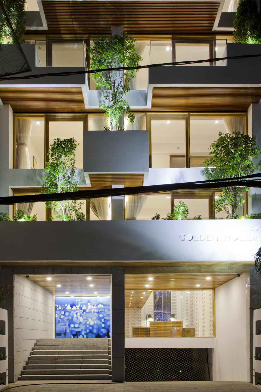 Gallery of Hotel Golden Holiday in Nha Trang / Trinhvieta-Architects  - 2