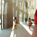 CASMSB - Foyer da Sala Experimental. Imagem © adjkm