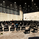 CASMSB - Sala de ensaio dos músicos. Imagem © adjkm