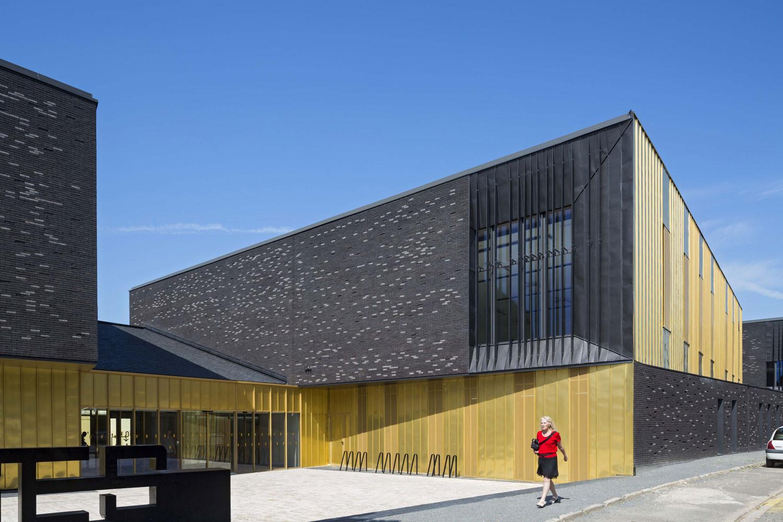 Conservatório em Melun / DE-SO, © Hervé Abbadie