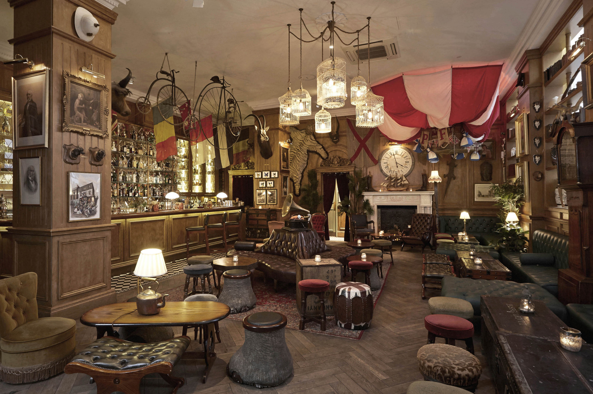 2014 Restaurant Bar Design Award WinnersStandalone Club Mr Foggs