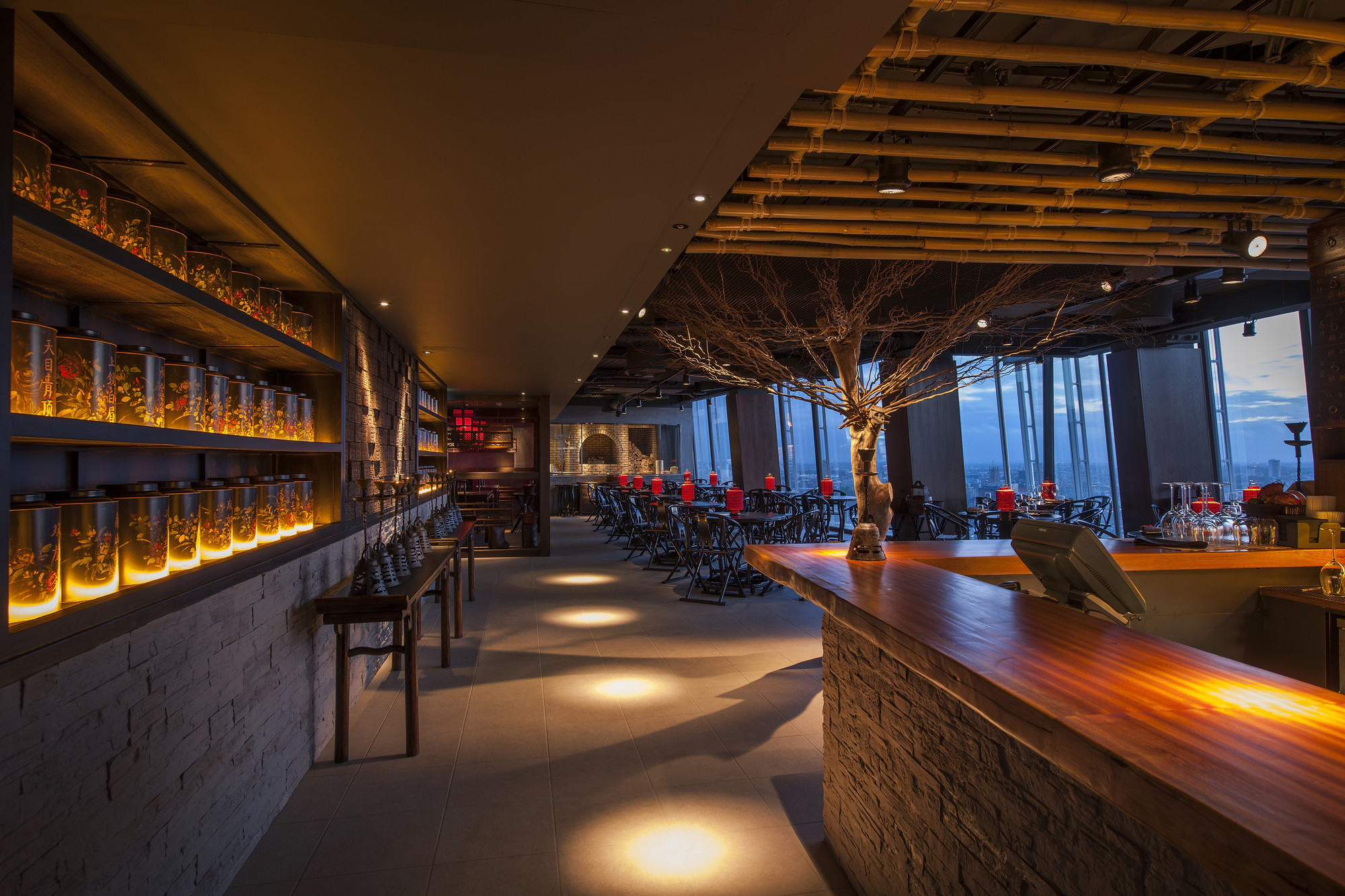 2014 restaurant bar design award winners archdaily for Lounge designs