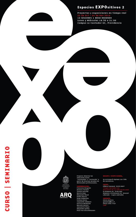 Seminario Espacios Expositivos / Santiago