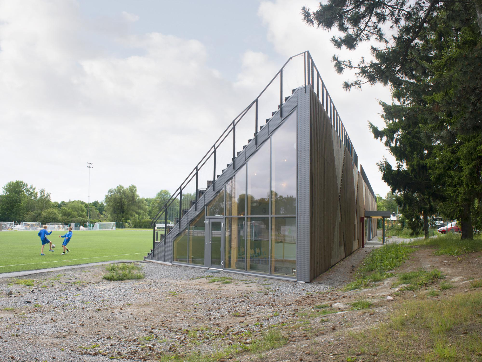 Liding 246 Vallen Small Football Stadium Dinelljohansson