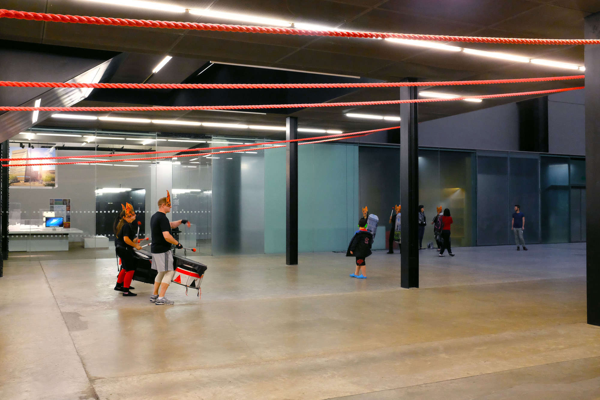 Gia Wolff Transforms The Tate Modern With Canopy Of RopesC John Hartmann Freecell