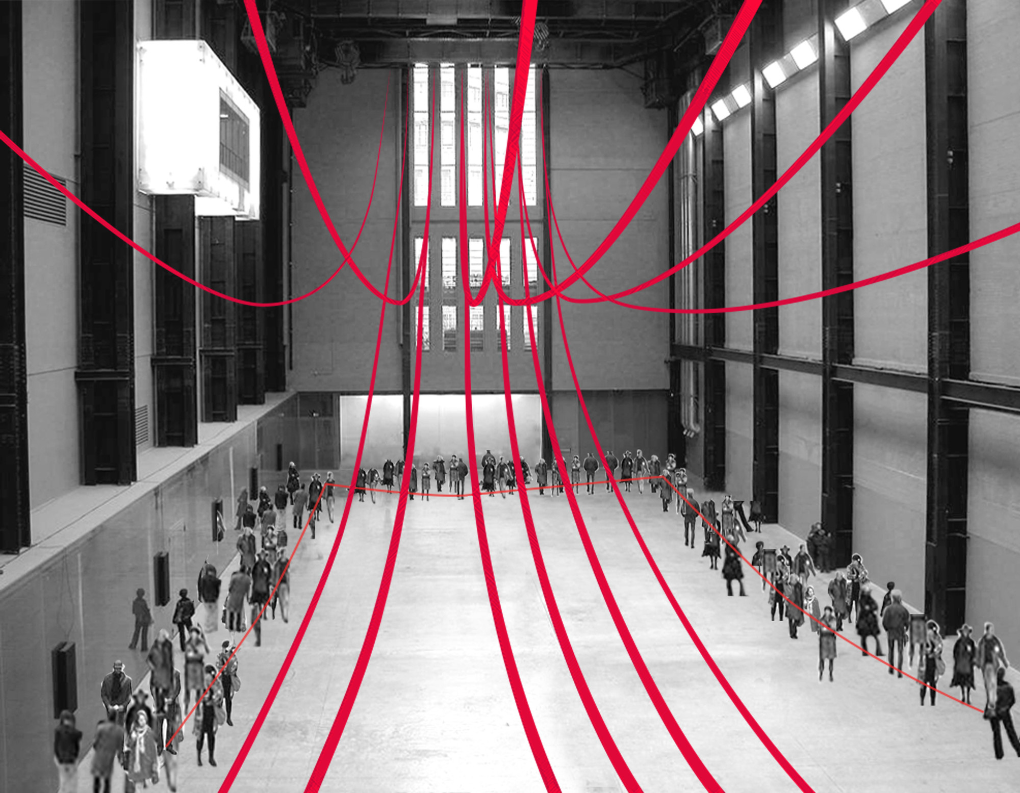 Gia Wolff Transforms the Tate Modern with Canopy of Ropes & Gallery of Gia Wolff Transforms the Tate Modern with Canopy of ...