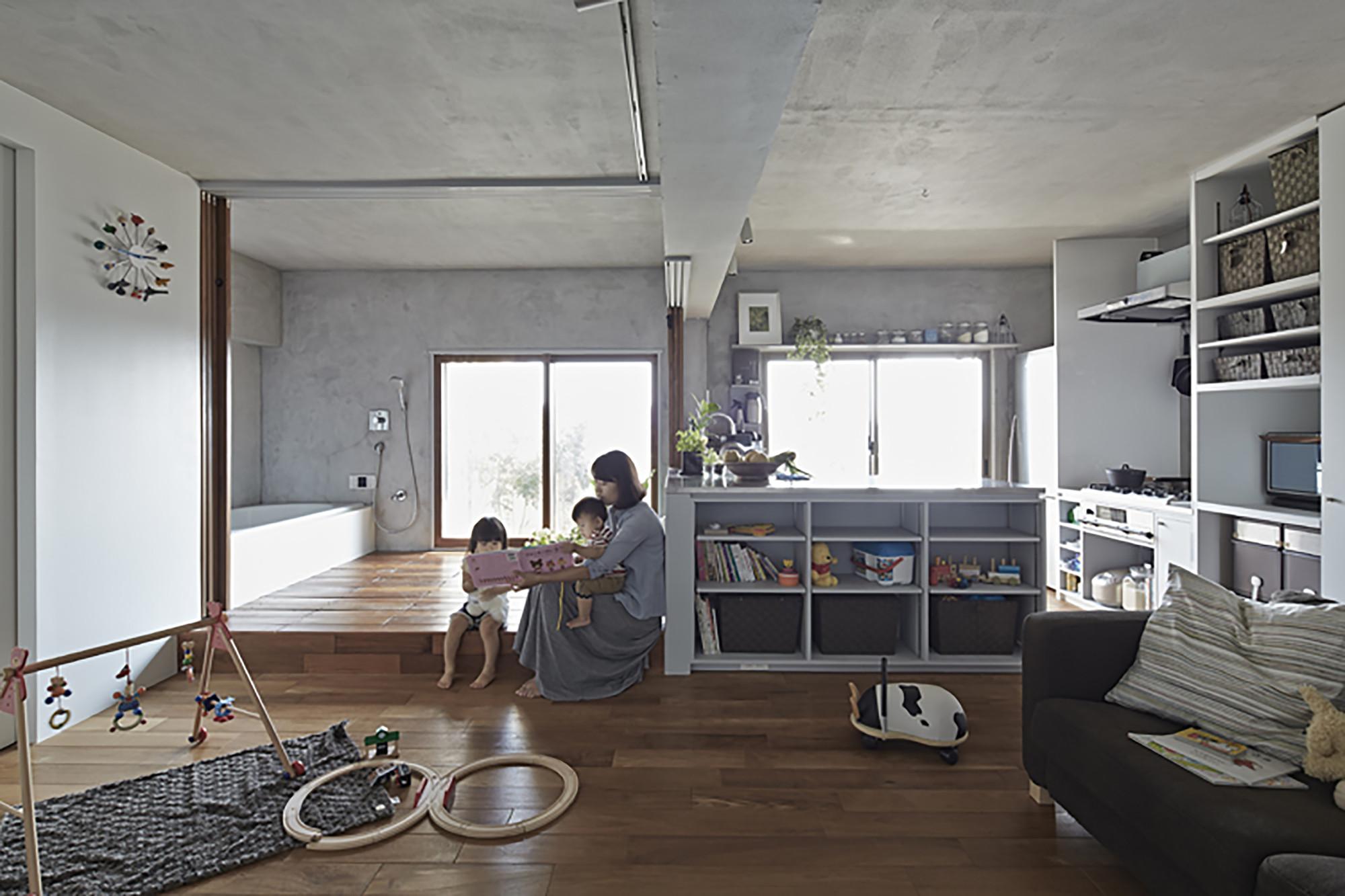 Bath Kitchen House / Takeshi Shikauchi, © Koichi Torimura