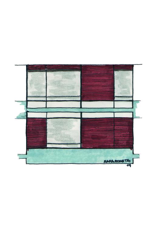 """Arte e Arquitetura: """"Janelas de SP"""" por Nara Rosetto, Ed. Pauliceia © Nara Rosetto"""