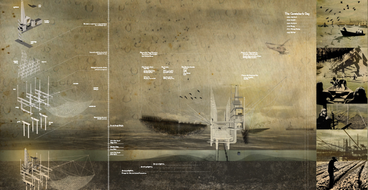 Unbuilt Visions 2013 - Primeiro Lugar: Coastal Caretaker / Ursula Emery McClure, Michael McClure, Kristi Dykema Cheramie, Sarah Young (EUA)