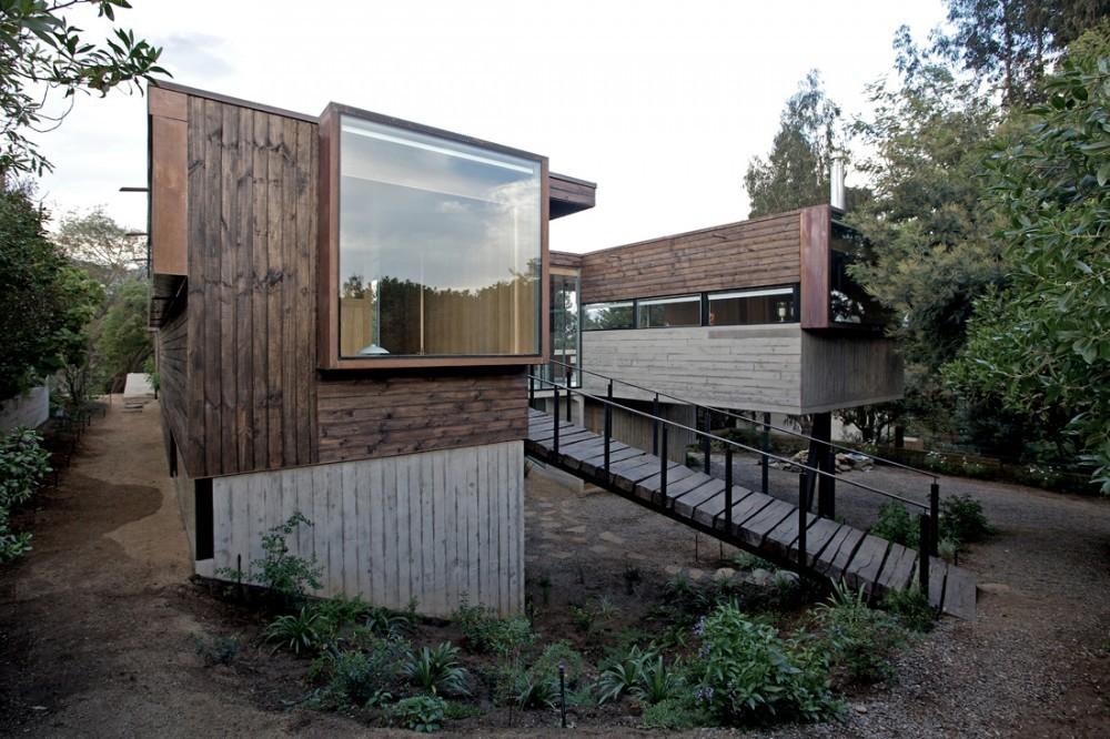 Archivo casas de hormig n y madera plataforma arquitectura - Casas de madera y hormigon ...