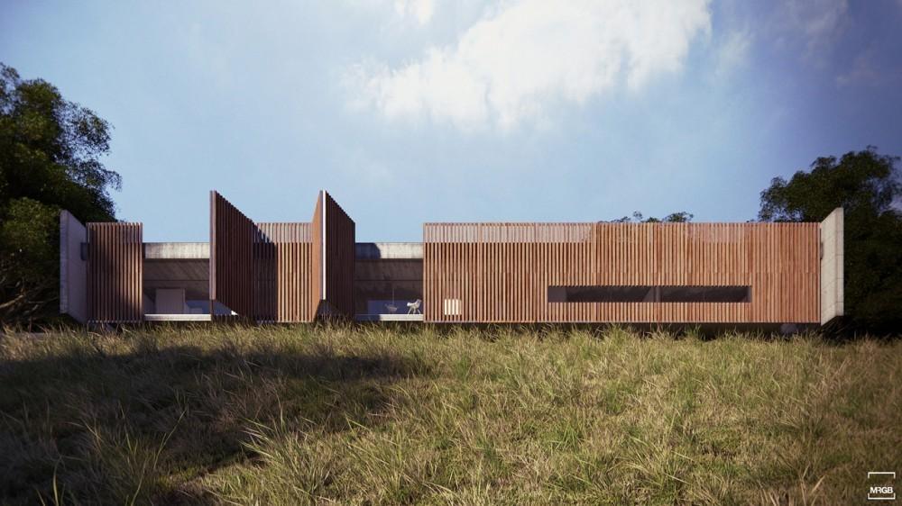 Archivo casas de hormig n y madera plataforma arquitectura - Casas de cemento y madera ...