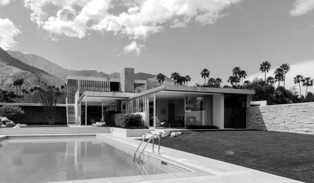Cl 225 Sicos De Arquitectura Casa Kaufmann Richard Neutra
