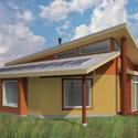 Projeto de Architecture For Humanity para a Reserva Fort Peck. Cortesia de Make It Right