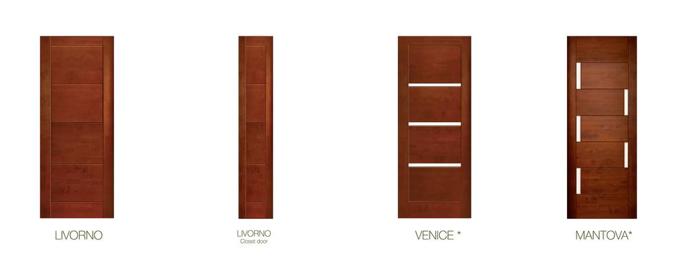 Galer a de materiales puertas de madera maciza 12 for Puertas principales modernas 2016