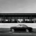 A Galeria em 1968. Imagem © Archiv Neue Nationalgalerie, Nationalgalerie, Staatliche Museen zu Berlin, foto: Reinhard Friedrich
