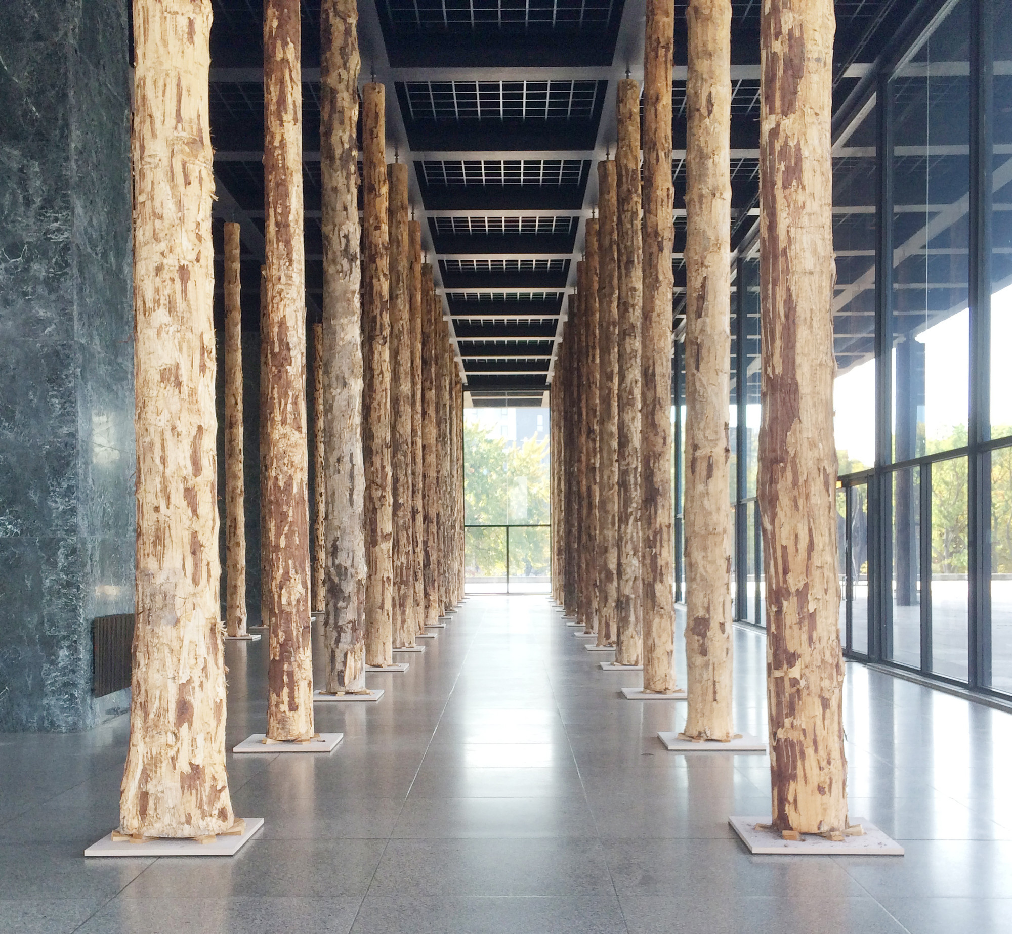 gallery of david chipperfield 39 s sticks and stones toys with van der rohe 39 s bones in berlin 10. Black Bedroom Furniture Sets. Home Design Ideas