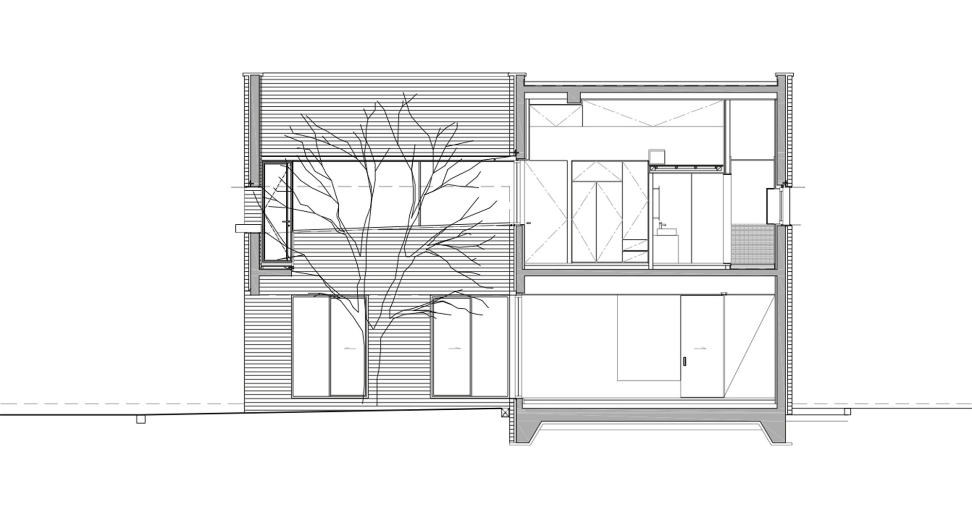 Gallery Of L Square House Wise Architecture 28