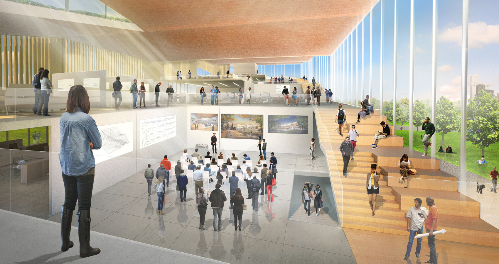WEISS/MANFREDI (Competition Renderings)