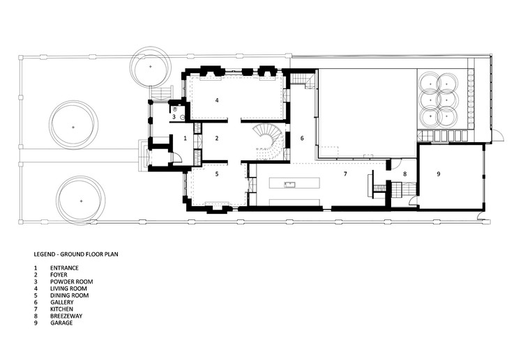 Casa street gh3 archdaily m xico for Ron lee homes floor plans